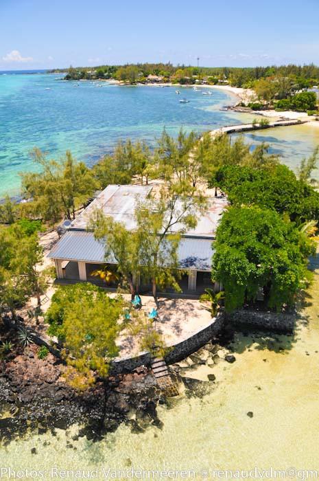 Mauritius Lilot Villa - close up of the villa - © Renaud Vandermeeren and L'ilot