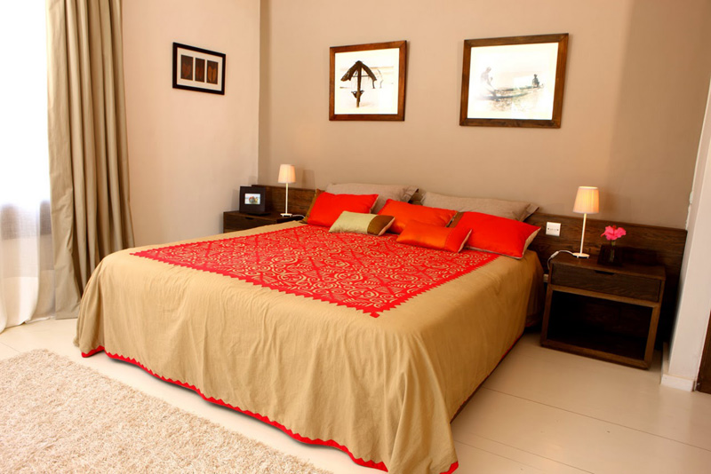 Mauritius Lilot Villa - double bedroom - © L'ilot