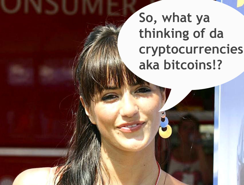 so what ya thinking of crytpocurrencies aka bitcoins