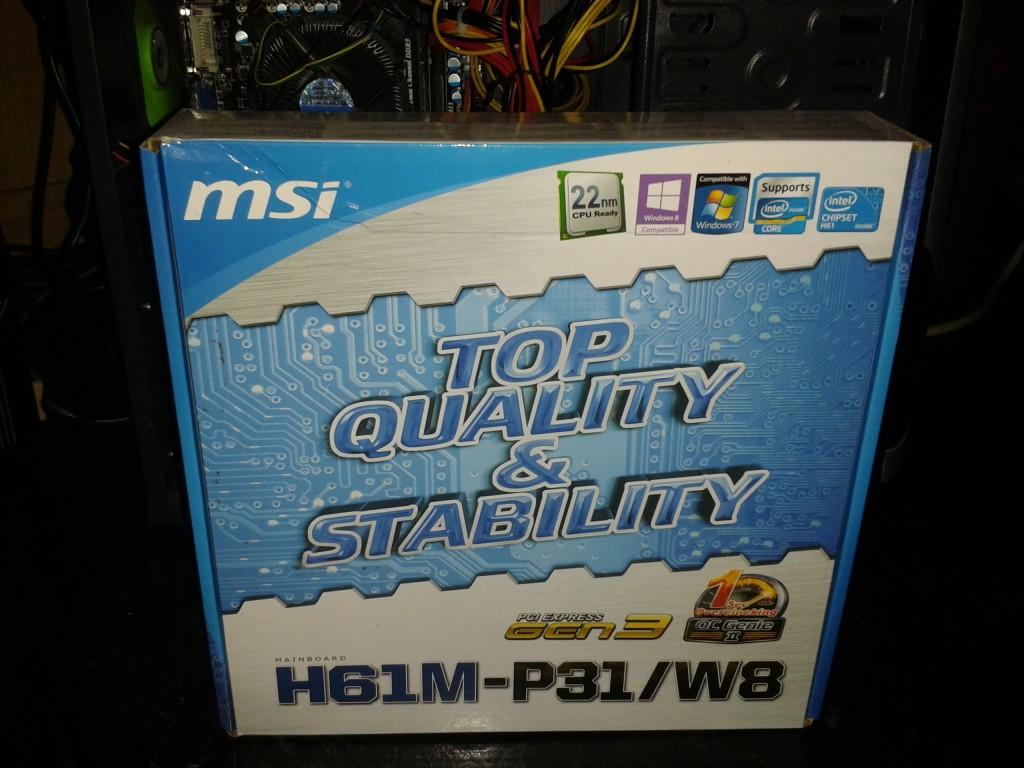 MSI H61M-P31 W
