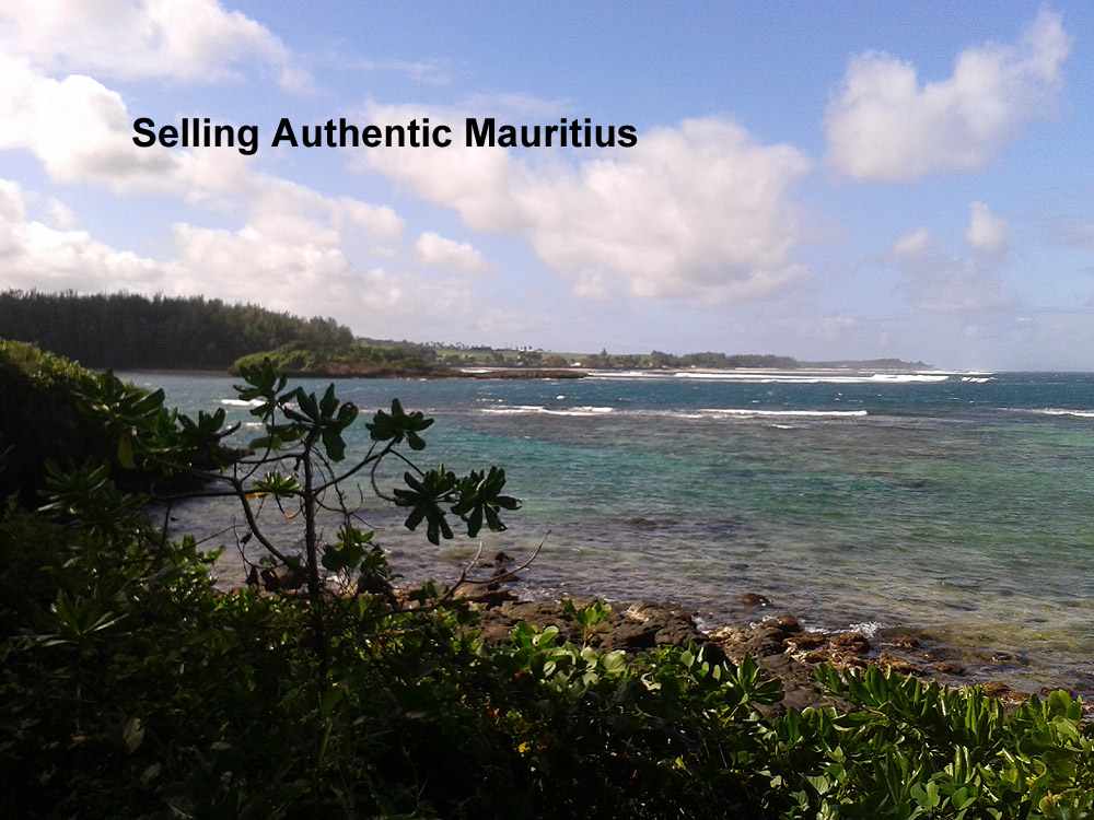 Selling Authentic Mauritius