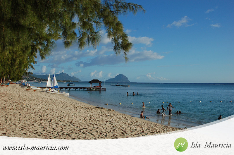 Mauritius - Flic en Flac Beach close to Hilton Hotel