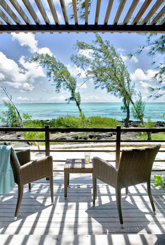 Mauritius Lilot Villa - view from the verandah - © L'ilot