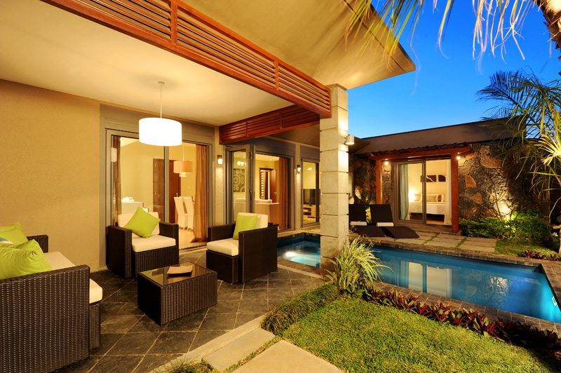 Mauritius Private Luxury Laidback Villas Gated Community Own Pool