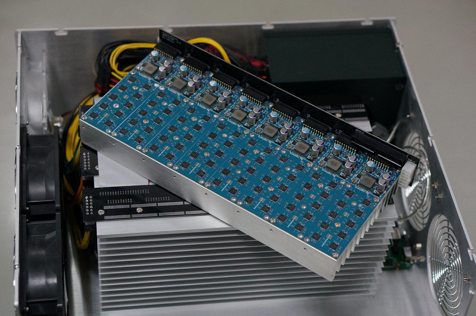 Avalon An ASIC base bitcoin machine