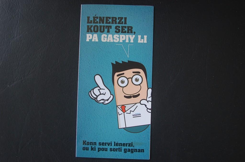 06.Flyer - Lénerzi Kout Ser, Pas Gaspiy Li - Page 1 - Konn Servi lénerzi ou ki pou sorti gagnan