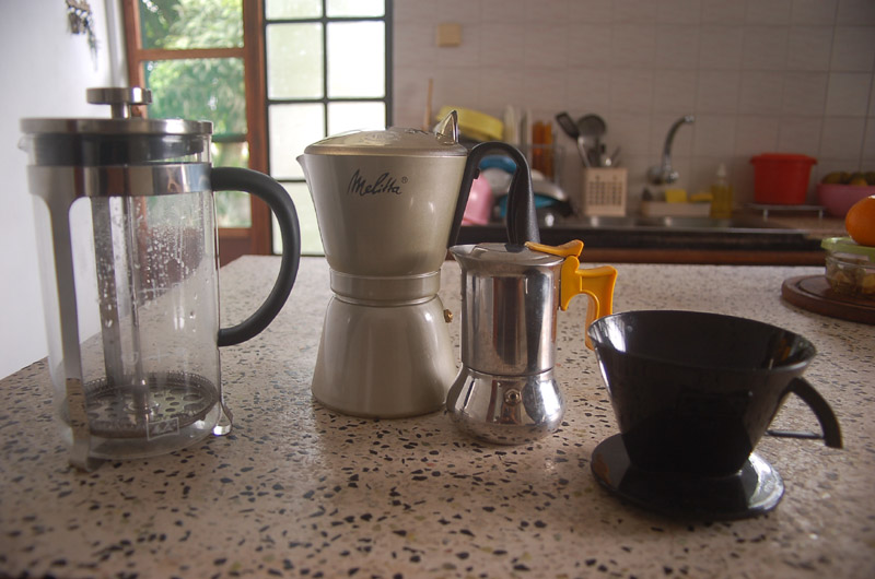 Making a good cup of coffee in Mauritius - 02