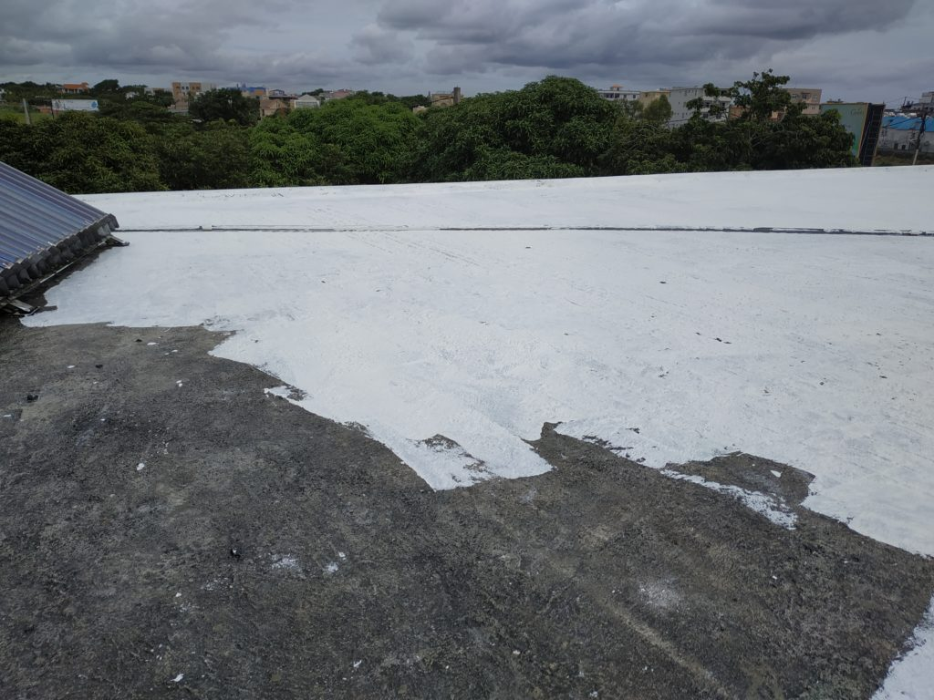 Progression of Roof Coat Solar Repellent Mauritius