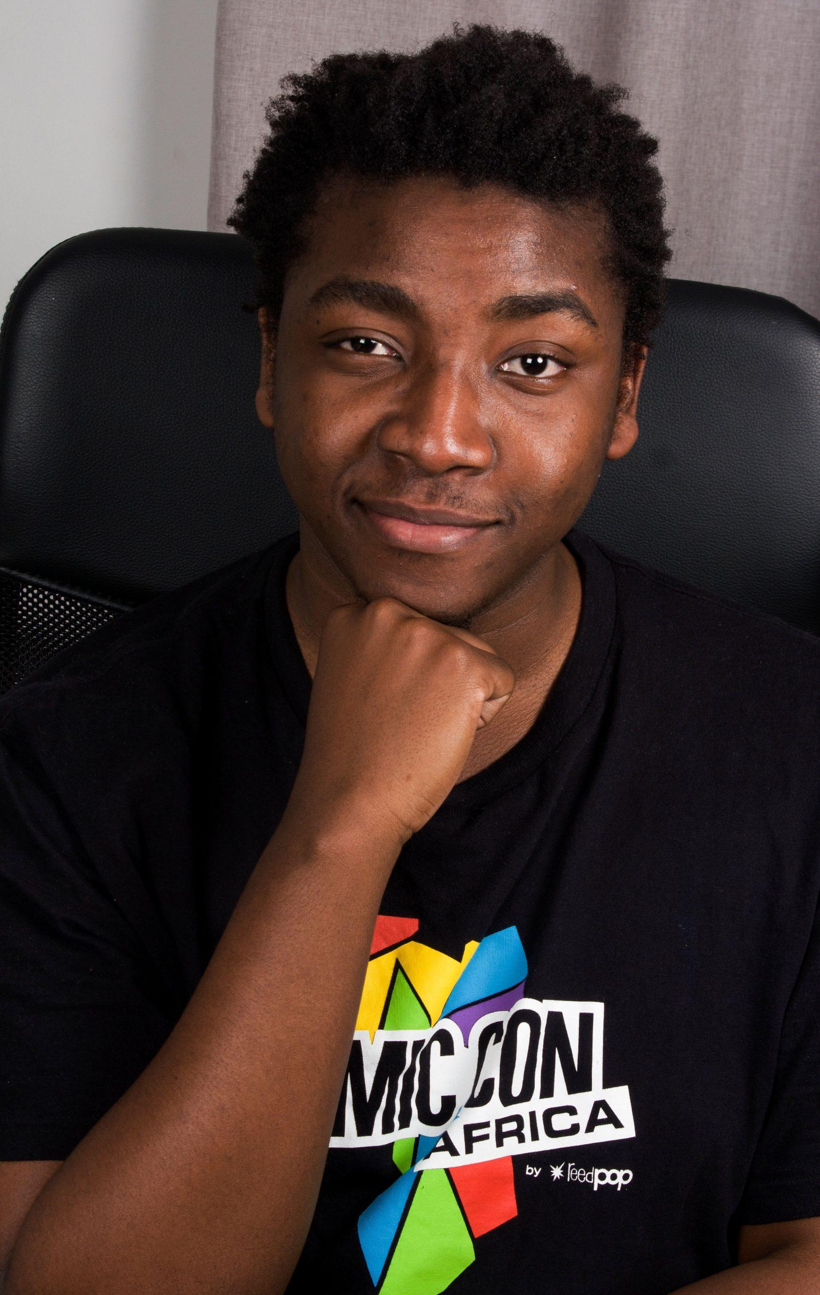 African Comic Books creator Bill Masuku